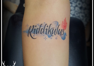 Text tattoo   Watercolor tattoo   Tattoo design for girls