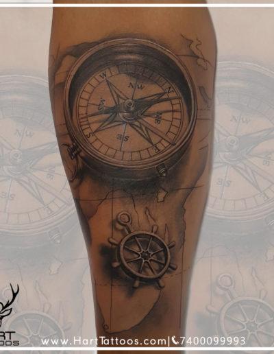 compass forearm
