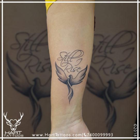 Pheonix tattoo | Small Tattoo | Tattoo Design For girls
